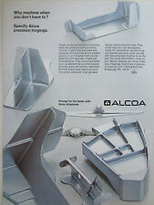 1/1972 PUB ALCOA ALUMINIUM AEROSPACE INDUSTRY PRECISION FORGING ORIGINAL AD