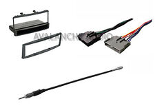 Complete Ford Focus 2000-2004 Car Stereo Dash Installation Kit W Wiring Harness