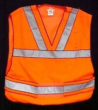 Men's 49001 5.11 Tactical Series Poly Orange Reflective Safety Vest Regular New