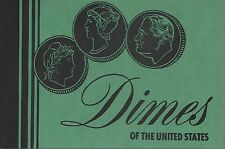 Dimes of the United States Blank Meghrig Album Folder NOS Holds 42 Coins