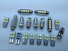 IT 18x LED SMD Luce Bianco Interno Posteriore illuminazione AUDI A3 S3 RS3 8PA
