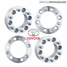 4x Wheel Spacers Adapters 6x5.5 for 6 Lug Toyota Tacoma  4Runner Tundra 2''