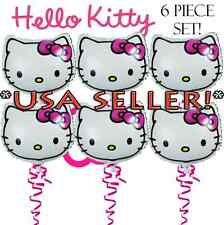 Set of 6 Hello Kitty Birthday BAlloons Birthday Party Balloon