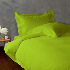 Solid / Plain All Colors / Size Bed Sheet Sets 1000 Thread Count Egyptian Cotton