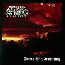 ORDER FROM CHAOS - Plateau of Invincibility - CD - DEATH METAL
