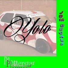 YOLO you only live once JDM Sticker Aufkleber oem Shocker