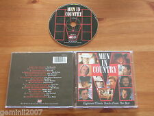 CD : Men In Country by Various Artists Country Music Compilation Album 1997 VVGC