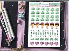 020   1 x Sheet of 54 Hospital Nurse HOMEMADE Planner Stickers CRAFTMUM AUS