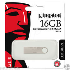 16gb USB 3.0 2.0 Speicher Stick KINGSTON DTSE9G2/16GB aus Metall Neu OVP
