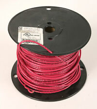 12 Red STRANDED COPPER WIRE 600v 15 Mils Insulation 300 FT - MTW THWN THHN AWN