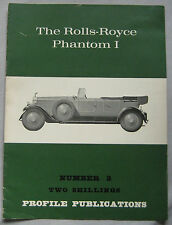Profile Publications magazine Issue 2 featuring Rolls-Royce Phantom I