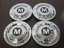 Mini Cooper chrome wheel center caps hubcaps Clubman SET OF 4 FOUR NEW