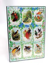 Scellé! wh smith 1500 piece oiseaux exotiques jigsaw puzzle scies sauteuses nature