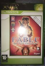 ORIGINAL XBOX Game FABLE: THE LOST CHAPTERS NEW & SEALED
