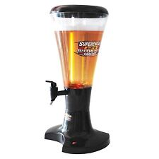 Draft Beer Tower Dispenser Plastic with LED Lights 3L NEW