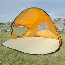 New Beach Tent 3-4 Person Instant Pop Up Sunshade Outdoor Camping Hiking Shelter