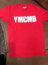 YMCMB t-shirt Red Drake Lil Wayne Rap Young Money Cash Size S Small
