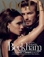 VOGUE Paris December 2013/January 2014,Victoria David Beckham  COVER 1 NEW