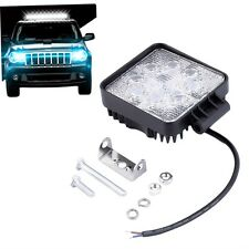 24W 8LED 12V Spot work Lamp Square Light Off-road Boat Sport Truck Driving AO