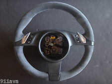 PORSCHE CAYENNE GTS 2011 14 THICKER  ALCANTARA MULTI FUNCTION  STEERING WHEEL