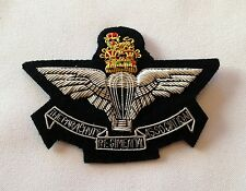 Parachute Regiment Association Blazer Badge, Army, Military, Embroidered, Para