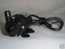 SUBMERSIBLE WATER FOUNTAIN PUMP 40GPH  @ 12VOLT RUN FROM 6V 12V SOLAR OR BATTERY