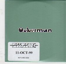 (EJ873) Ooberman, Tears From A Willow - 1999 DJ CD