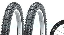 2 Bicycle Tyres Bike Tires - Mountain Bike - 26 x 1.95 VC-2004 - High Quality