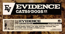 EVIDENCE Cats & Dogs Ltd Ed Sticker! Hip-Hop Atmosphere P.O.S Tyler The Creator