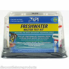 API Freshwater Aquarium Master Liquid Test Kit Fish Tank Water Testing