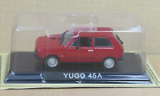 "DIE CAST "" YUGO 45A "" LEGENDARY CARS SCALA 1/43"