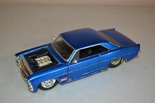 JADA TOYS 1/24 Blue 1967 Chevy Nova SS Diecast (DAMAGED & MISSING PIECES)