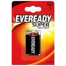 6F22 Super Heavy Duty Batterie 9V E-Block Zink-Kohle 9 Volt,EveREADY,  Energizer