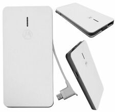 Motorola 2000mAh Slim Power Bank Backup External Battery Pack USB Charger C