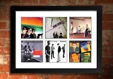 MOD REVIVAL 70s Vinyl Albums Art Print Jam Secret Affair Lambrettas Chords etc