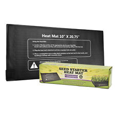 "Seedling Plant Heat Mat 10""x20.75""Seed Starter Pad Germination Propagation Clone"