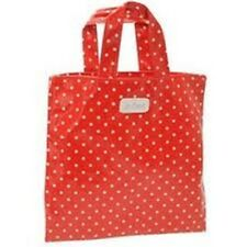 Lee Cooper Red Spotty Polka Dot Small PVC Handbag Purse Gift Bag NEW WITH TAGS