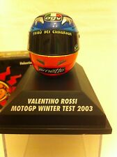 Minichamps 1.8th Scale Valentino Rossi Winter test MOTOGP Helmet  2003.