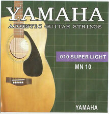 Yamaha MN 10 Super Light Acoustic Guitar Strings Set (.010-.047)