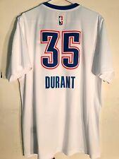 Adidas Swingman 2015-16 NBA Jersey Oklahoma City Thunder Kevin Durant White SS M