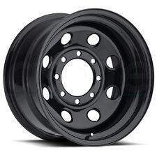 One 16x8 Vision HD 85 Soft 8 6x139.7 6x5.5 -12 Black Wheel Rim