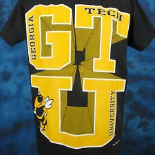 NOS vintage 90s GEORGIA TECH YELLOW JACKETS T-Shirt XL institute of technology