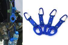 Mousqueton Porte-clés Sangle Alliage Aluminium Randonnée Clip Bouteille d'eau
