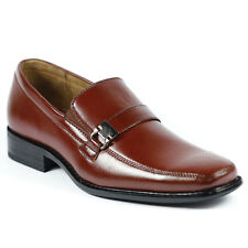 Delli Aldo Men's Slip On Buckle Strap Loafers Shoes w/ Leather Lining M-19131