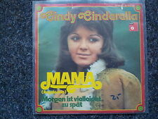 Cindy Cinderella - Mama (Angelo mio) 7'' Single