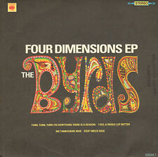 BYRDS - Four Dimension Ep (1990 REISSUE VINYL EP)