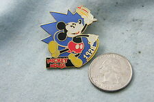 WILLABEE & WARD PIN DISNEY MICKEY MOUSE 1928 COMES WITH FACT CARD
