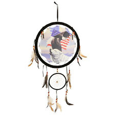 "Dream Catcher Mandella Eagle Flag Wolf Series Quality 13"" picture Wall"