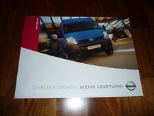 Nissan Interstar Prospekt 11/2003