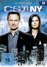 6 DVDs * CSI : NY - STAFFEL / SEASON 8 - NEW YORK # NEU OVP §